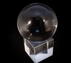 Boule de cristal 60mm + socle-2024