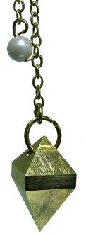 Pendule double pyramide-0