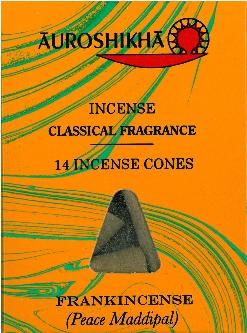 Encens Auroshikha cones frankincense (oliban)-0