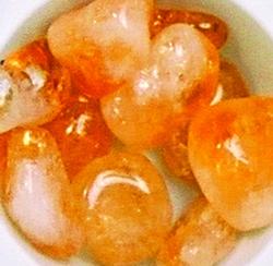pierre roulée citrine-0