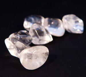 Cristal de roche (pierres roulées).-1979
