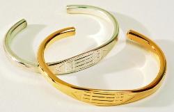 Bracelet Louxor ( Bracelet atlante/ egyptien). Plaqué or-0