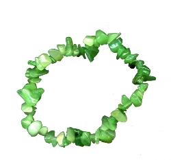 Bracelet baroque aventurine verte-0