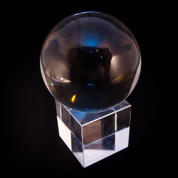 boule de cristal + socle