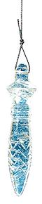 Pendule Egyptien Cristal roche (Thot)-0
