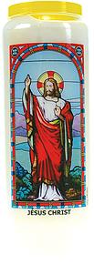 Neuvaine vitrail : Jésus Christ-0
