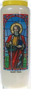 Neuvaine vitrail : Saint Paul-0