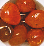 Cornaline (pierre roulée)-0