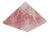 Pyramide - Quartz Rose-0