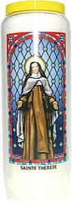 Neuvaine vitrail : Sainte Thérèse-0
