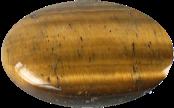 Galet GM Oeil de Tigre 5 x 7 cm - La pièce-0