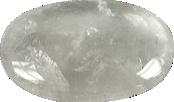 Galet GM Cristal de Roche 5 x 7 cm -0