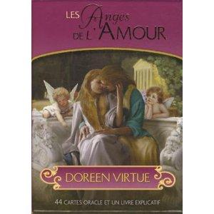 Les Anges de l'Amour : 44 cartes oracle et un livre-0