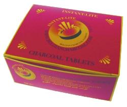 Charbons ardents ø 33 mm (spécial encens haute qualité)-0