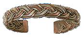 Bracelet 3 métaux torsade-0