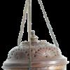 Encensoir suspendu en cuivre (brule encens)-0