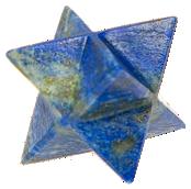 Etoile Merkaba Lapis Lazuli - 4 cm-0