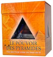 Le pouvoir des pyramides (Coffret livre + pyramide)-0