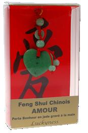 Porte-bonheur Feng-shui - Amour-0
