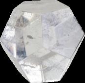 Dodécaèdre - Cristal de roche - 4,5 cm-0